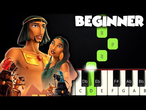 When You Believe - The Prince Of Egypt | BEGINNER PIANO TUTORIAL + SHEET MUSIC by Betacustic