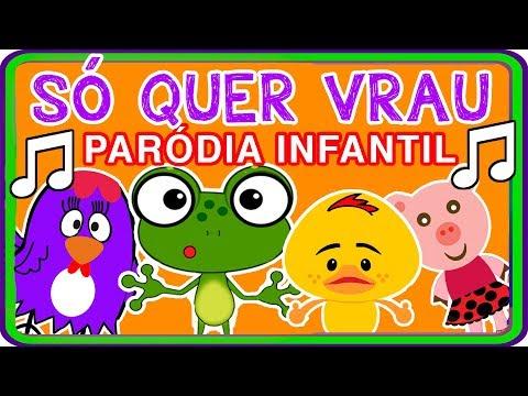 MÚSICA SOU LEGAL - PARÓDIA SÓ QUER VRAU / MÚSICA INFANTIL (BELLA CIAO)