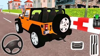 My Holiday Car  Green Sport Car, Orange Jeep Driving  Android GamePlay