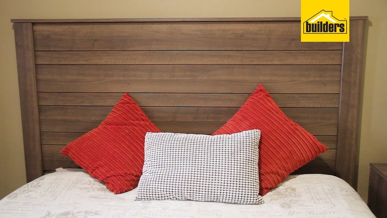 Hk Headboard Walnut 1800 X 40 X 1360mm Bedroom Furniture Furniture Built In Cupboards Home And Decor Builders South Africa