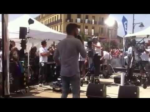 """Kendji Girac à  Bergerac """" Color Gitano """" -  Samedi 26 Juillet 2014"""