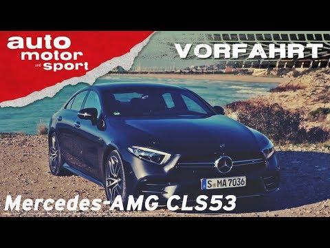 Mercedes-AMG CLS 53: Ein Hybrid-AMG?! - Vorfahrt (Review)   auto motor und sport