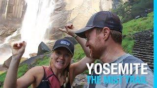 YOSEMITE NATIONAL PARK | THE MIST TRAIL (RV VLOG 73)