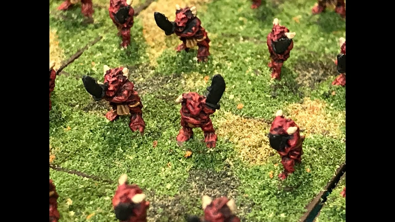 6mm Fantasy - Painting Blade Demons from Microworld Games