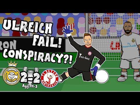 😱ULREICH CONSPIRACY?!😱 FAIL! Real Madrid vs Bayern Munich 2-2 (4-3 2018 UCL highlights)