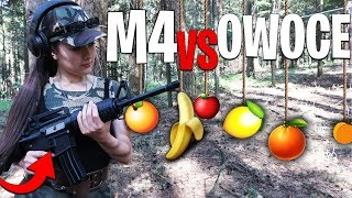 FORTNITE M4 VS OWOCE ! Challenge |