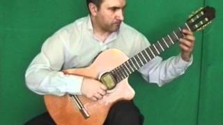 Раба любви, Э.Артемьев, аранжировка для гитары соло