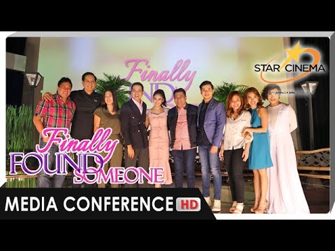 [FULL] 'Finally Found Someone' Media Conference