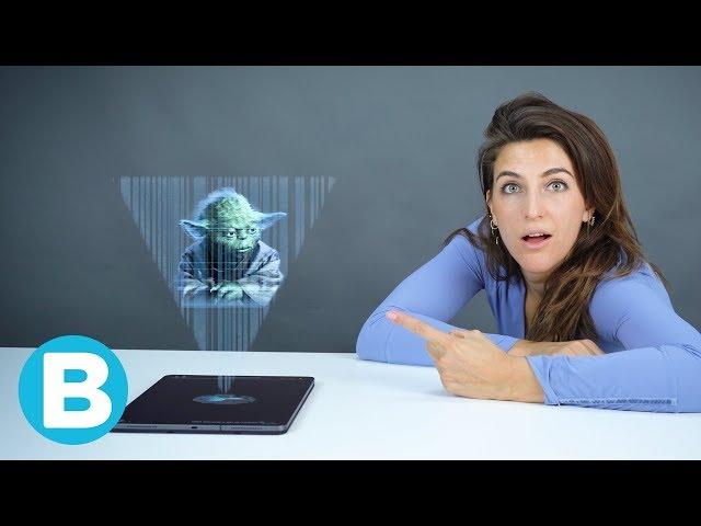 Hologrammen komen eraan! Wat wordt er mogelijk?