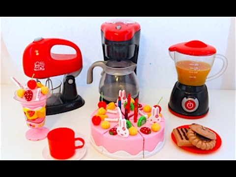 Kitchen Appliance Playset Blender Just Like Home Candy