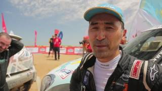 «Astana Motorsports» торжественно финишировала на подиуме ралли-марафона «Silk Way Rally 2016»