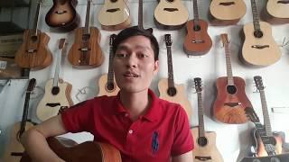 Đàn guitar giá rẻ 2300k | đàn guitar gỗ Full Mahogany | Guitar isaac