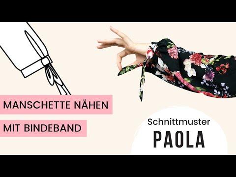 Manschette nähen Anleitung / Schnittmuster PAOLA
