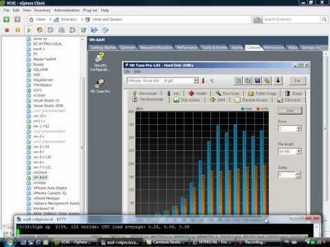 VMware VMFS hosted on RAM