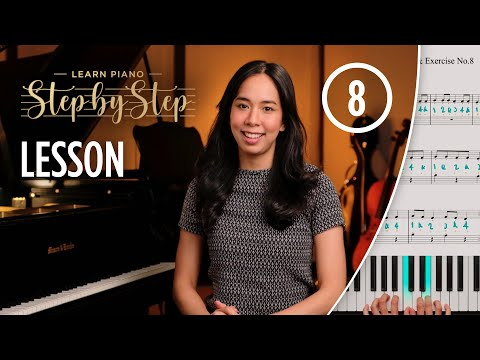 Learn Piano Step by Step - Lesson 8