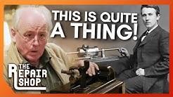 Thomas Edison 'Opera' Phonograph Leaves Expert Tim in Awe | The Repair Shop
