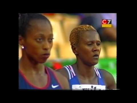 1999 World Championships, Women's 100m Hurdles Final, Seville, Spain