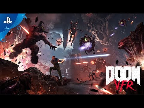 DOOM VFR – Launch Trailer | PS VR