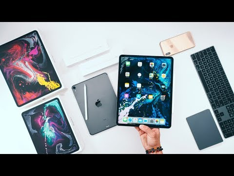 2018 iPad Pro UNBOXING and SETUP (11' and 12.9')