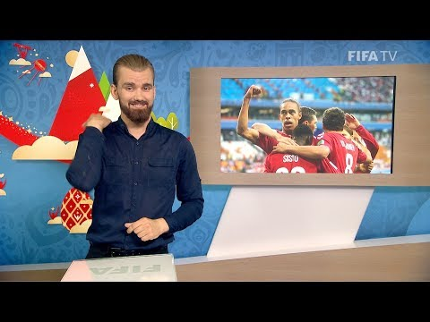 FIFA WC 2018 - PER vs. DEN – for Deaf and Hard of Hearing - International Sign