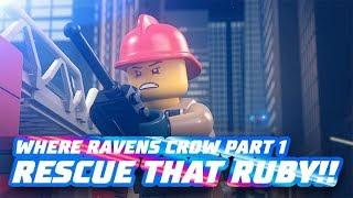 LEGO City Sky Police and Fire Brigade – Where Ravens Crow: Part 1 of 2  - LEGO City Mini Movie 2019