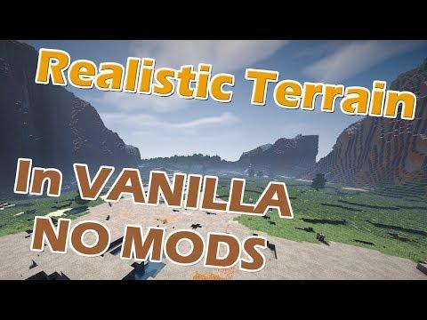 Realistic Terrain Generation In Vanilla Minecraft NO MODS :: Minecraft 1.12.2