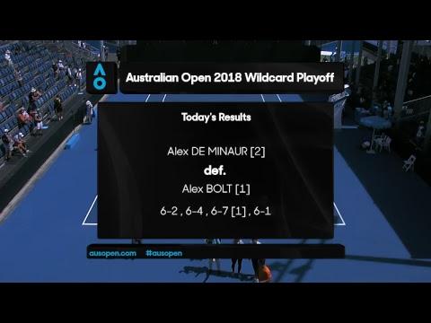 Australian Open 2018 Wildcard Play-off | Court 8 | The Finals