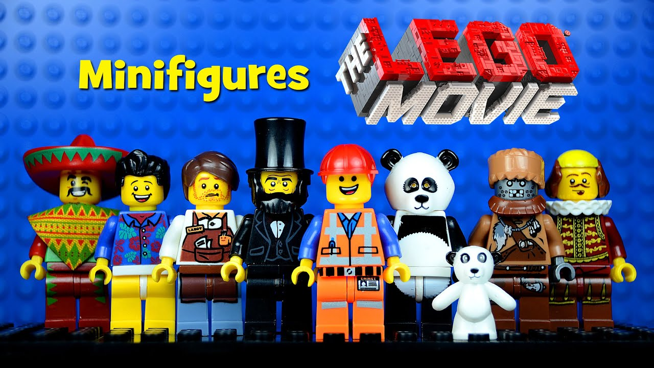 the lego movie knockoff minifigures set 2 bootleg emmet