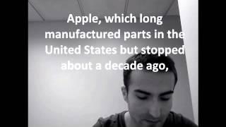 перевод Нью-Йорк Таймс (статья про Apple)