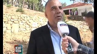 حديقة الفنان عارف الريس في عاليه Aref Al Rayess