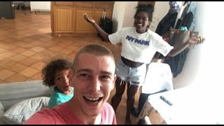 SHAVED MY HEAD and Surprised my FAMILY!!