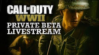 Call of Duty WW2 Beta Weekend 2 LIVE *Interactive Streamer* + FREE BETA CODES + New Song Request