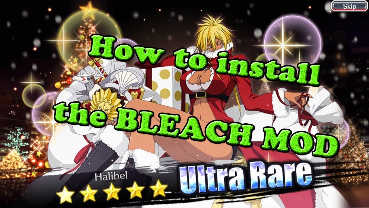 Tutorial! How to install the BLEACH Brave Souls MOD APK correctly without blackscreen
