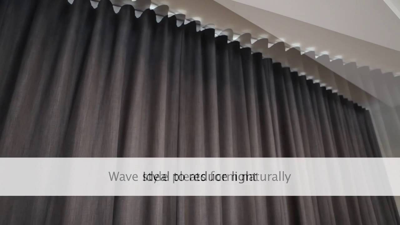 BLOCK OUT WAVE FOLD CURTAINS By A Curtains And Blinds Gold Coast