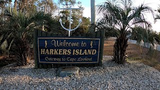Take A Ride Through Harkers Island located in Eastern, North Carolina!