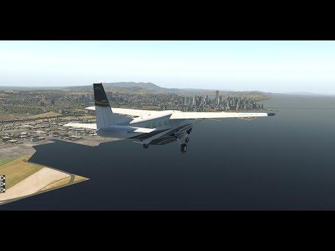 X-Plane 11 - GrandCaravan / FSEconomy Flights in Alaska /