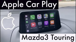 Apple Car Play in the 2018 Mazda Mazda3 Touring with Jonathan Sewell Sells in Enterprise, Alabama