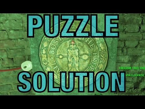 Fallout 4 - Freedom Trail Ring Puzzle