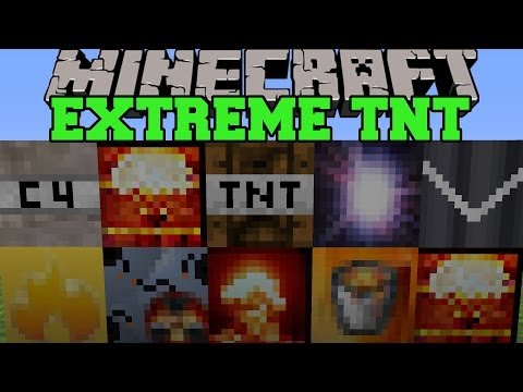 Thumbnail: Minecraft: EXTREME TNT (SUPERNOVA, HYDROGEN BOMB, & MORE EXPLOSIVES!) Mod Showcase