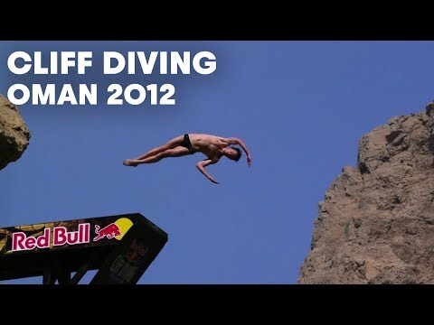 Cliff Diving in Oman - Red Bull Cliff Diving World Series 2012