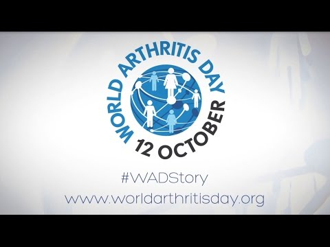World Arthritis Day 2016 - The Future is in Your Hands