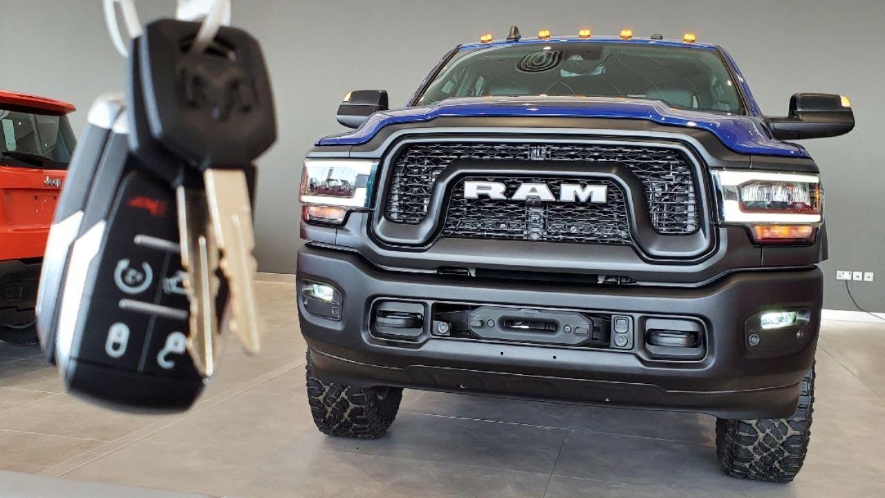 Ram 2500 Power Wagon : Start Up, Walkaround | جولة حول الضخم بكل تفاصيله: رام باور واجن