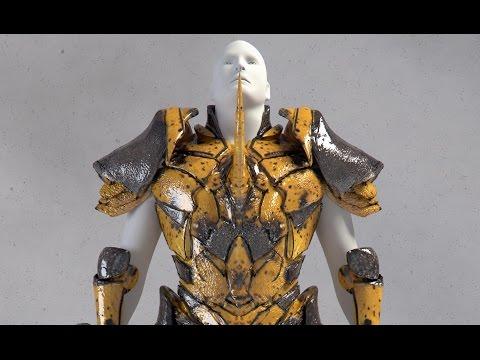Quick Zbrush Sculpt: Rhino Beetle Armor