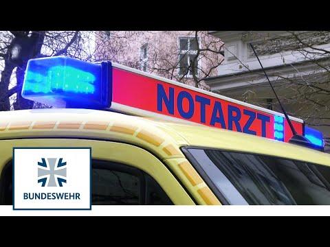 Bundeswehr rettet Zivilisten - Notarzt, Sanitäter und Notaufnahme in Berlin from YouTube · Duration:  5 minutes 50 seconds