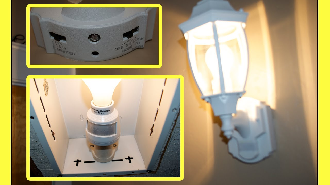 Motion Sensor Light Youtube Zenith Wiring Diagram