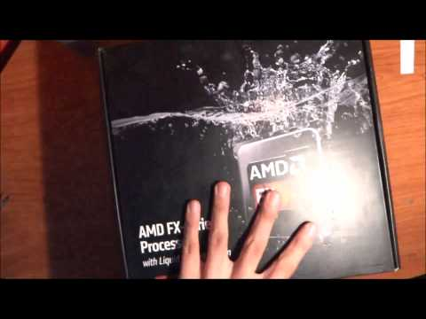 Unboxing and Review AMD FX 9370  &  9590 With Liquid Cooling System