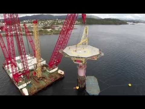 Draugen Buoy Removal - Scaldis Salvage & Marine Contractors NV