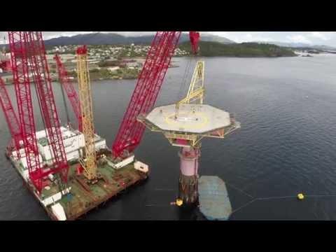 Draugen Buoy Removal - Scaldis Salvage & Marine Contractors NV