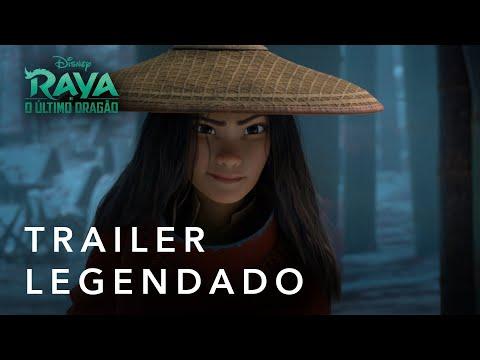 Raya E O Último Dragão | Trailer Oficial Legendado