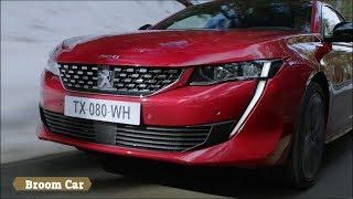 2019 Peugeot 508 Driving - Interior and Exterior Detail - Broom Car